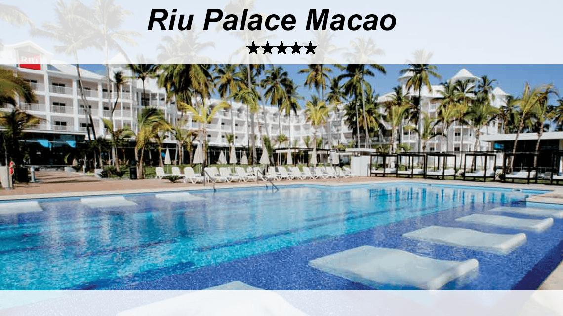 Voyages a prix fous, Riu Palace Macao,rabais voyages